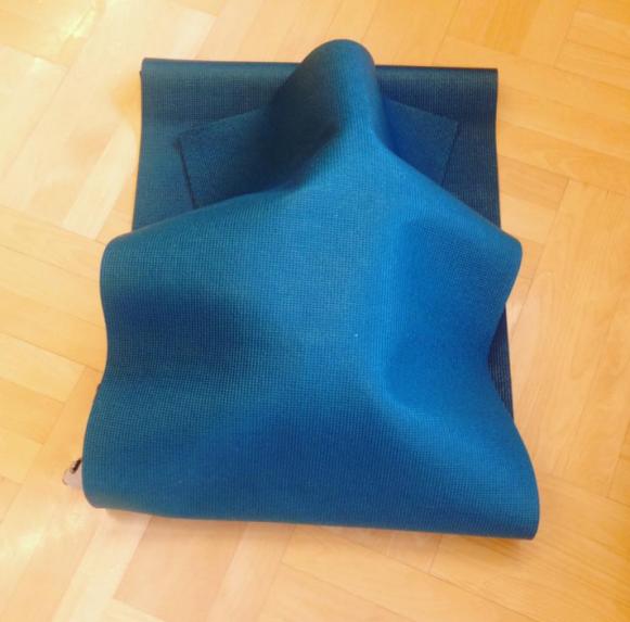 Yogamatten-Versteck – sehr beliebt zum Ausruhen