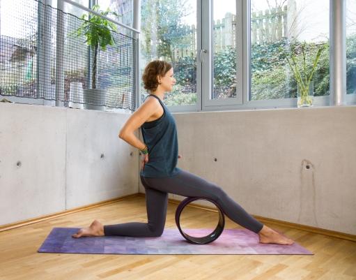Erstes Foto-Shooting im neuen Yogastudio!