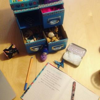 die magische blaue Box