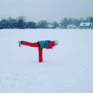 Schnee-Kriegerin 3