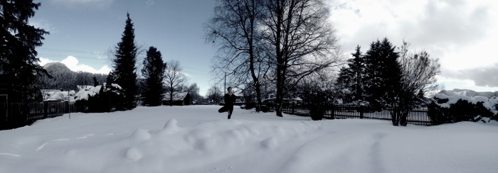 Schnee-Baum