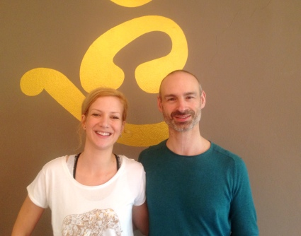 Nach Yoga-Dance mit dem großartigen Jack Waldas
