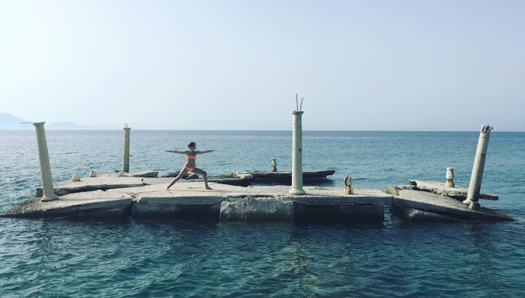 Kriegerin am Meer