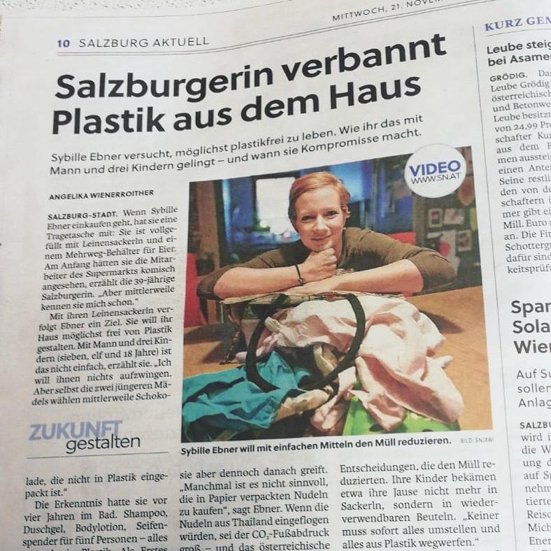 Sibl in der Zeitung